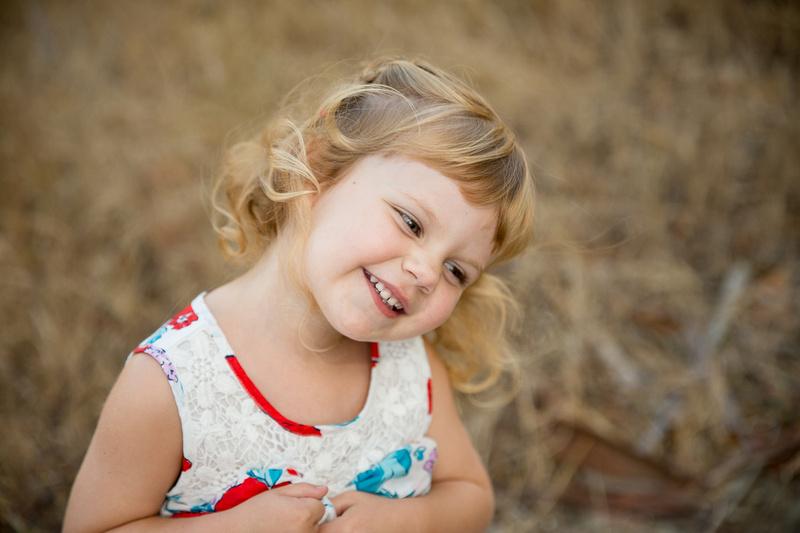sweet child smiles