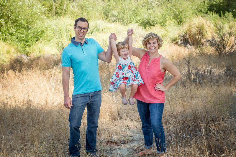 Family portrait in Culver City